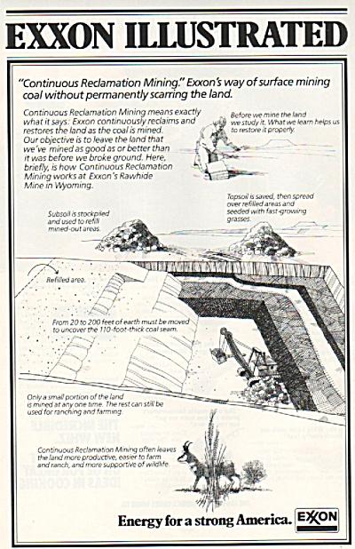 1978 Exxon AD - Surface Mining  (Image1)