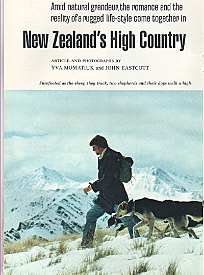 New Zealand's high country - 1979 (Image1)