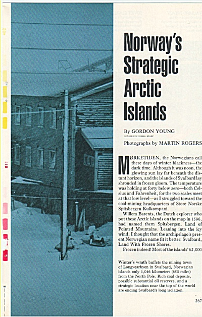 Norway's strategic Arctic Islands  1979 (Image1)