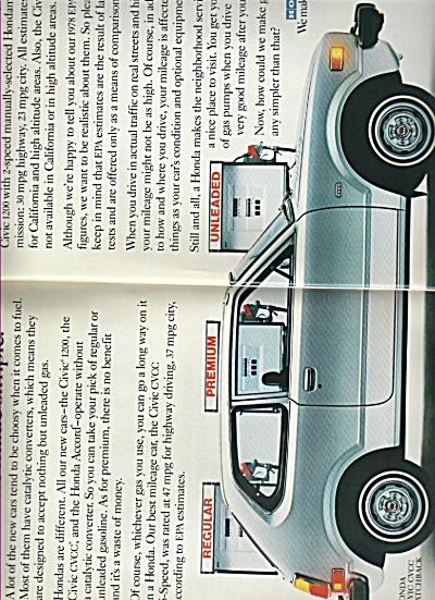 Honda automobile - 1979 (Image1)