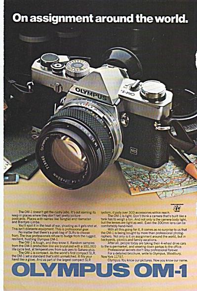 Olympus OM-1 ad 1979 (Image1)