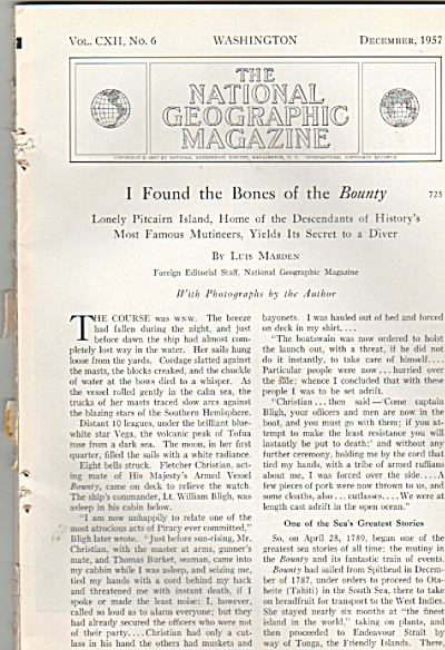 I found the Bones of the BOUNTY  story 1957 (Image1)