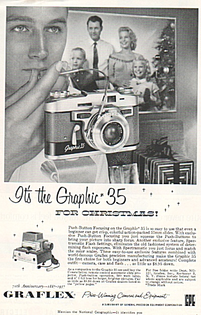 Graflex cameras & equipment ad 1957 (Image1)