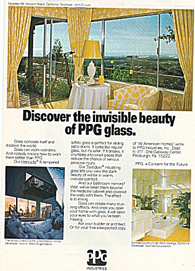Pittsburgh Plate glass  ad 1977 (Image1)