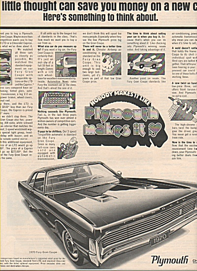 Plymouth Fury Gran couple ad 1970 (Image1)