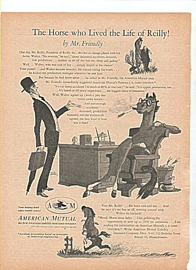 American Mutual insurance company ad 1947 (Image1)
