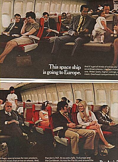Pan Am's 7474 Ad 1970
