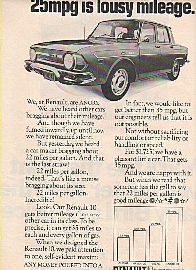 Renault auto ad 1970 (Image1)