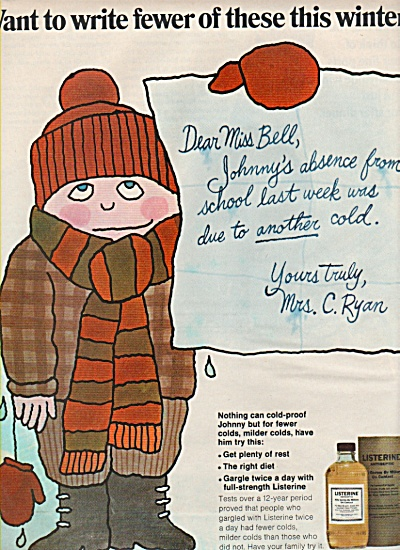 Listerine antiseptic ad 1969 (Image1)