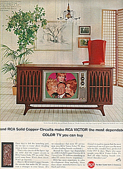 Rca Color Television Ad 1965