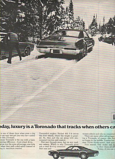 Oldsmobile Toronado ad 1969 (Image1)
