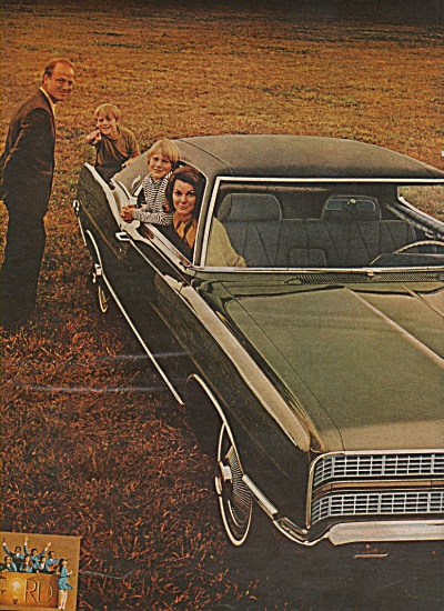 Ford   LTD XL sports roof ad 1969 (Image1)