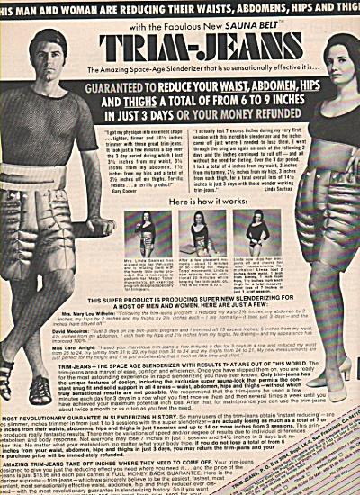 Trim Jeans sauna belt ad 1970 (Image1)