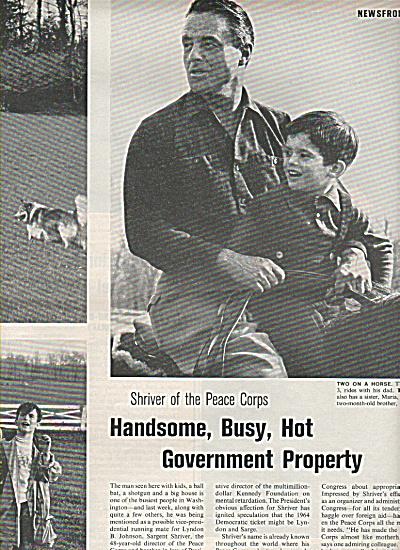 Sargent Shriver story - 1964 (Image1)