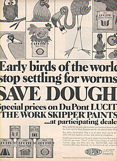Dupont Lucite paints ad 1969 (Image1)