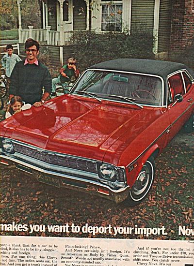 Chevrolet Nova ad 1969 (Image1)