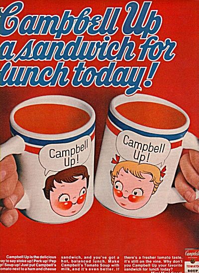 Campbell's tomato soup ad 1969 (Image1)