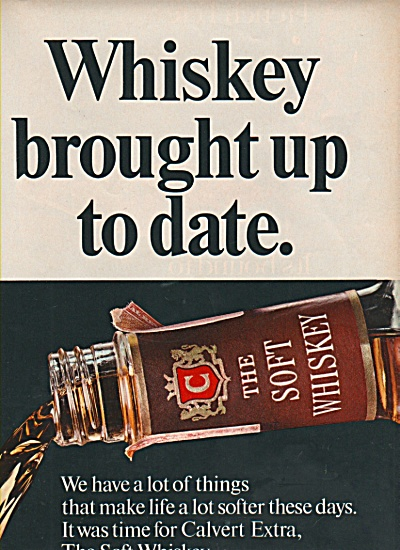 Calvert Extra whiskey ad 1969 (Image1)