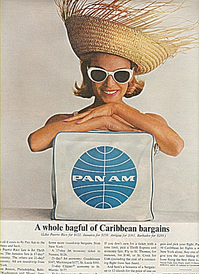 Pan Am airlines ad 1964 (Image1)