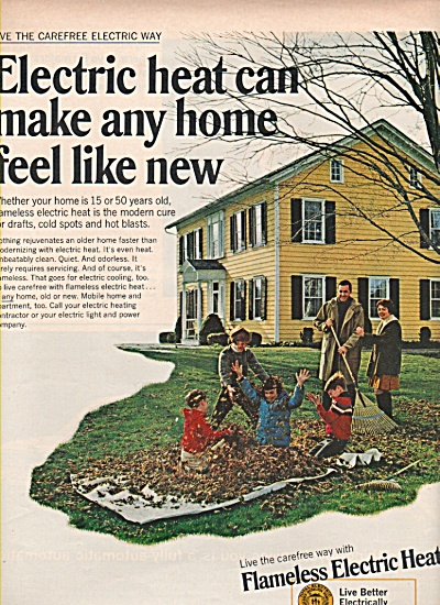Flameless Electric heat ad 1969 (Image1)