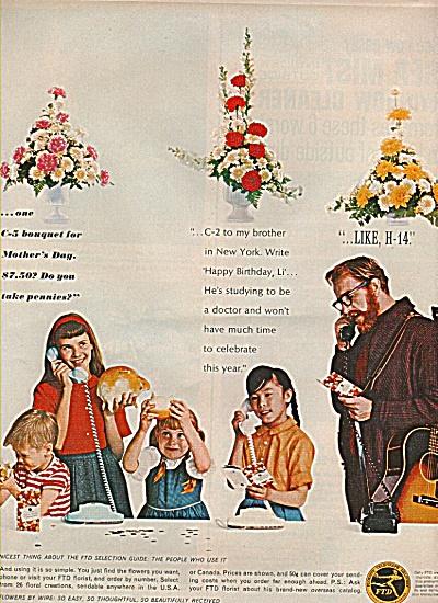FTD florists ad 1964 (Image1)
