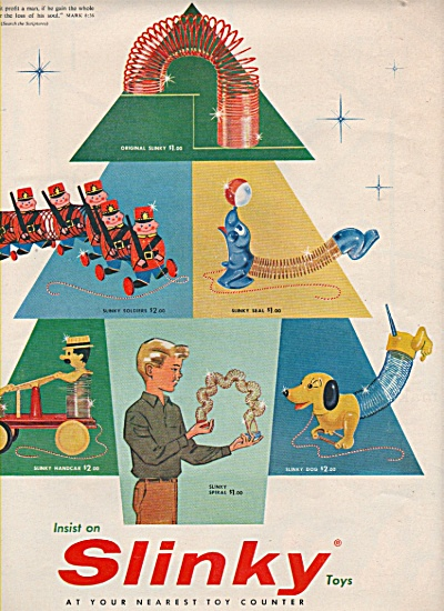 Slinky toys ad 1957 (Image1)