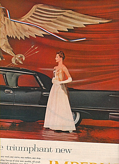 Chrysler Imperial  auto for 1958 ad (Image1)