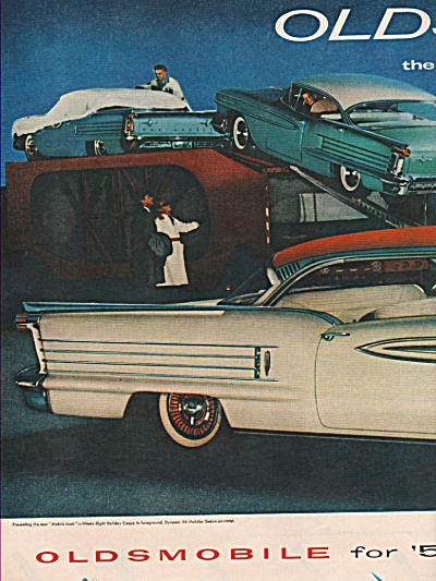 Oldsmobile for  1958 ad (Image1)