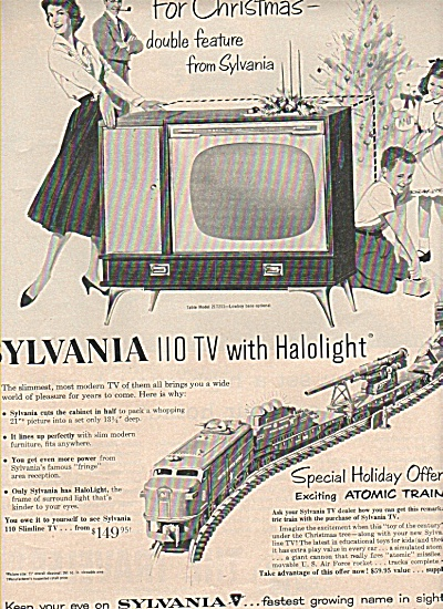 Sylvania television ad 1957 (Image1)