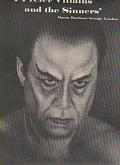 GEORGE LONDON,   Opera Baritone   1957 (Image1)