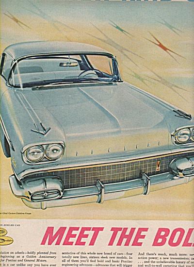 Pontiac Bonneville and Star Chief ad 1957 (Image1)