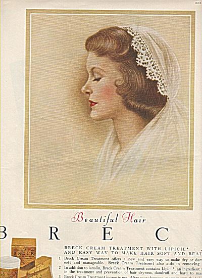 Breck shampoo  ad 1955 (Image1)