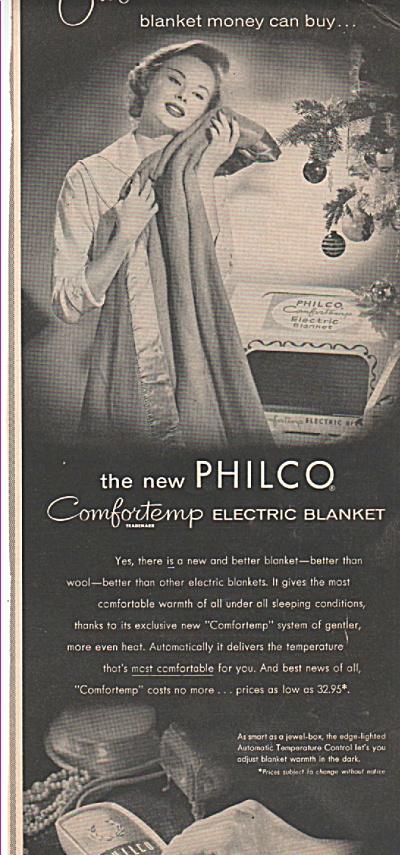 Philco elect4ic blanket ad (Image1)