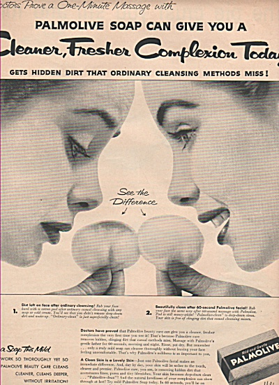 Palmolive  soap ad 1955 (Image1)