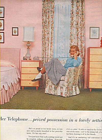 Bell Telephone system ad 1955 (Image1)
