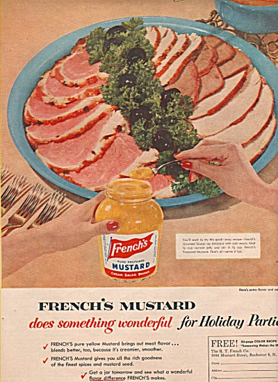 French's Mustard ad 1955 (Image1)