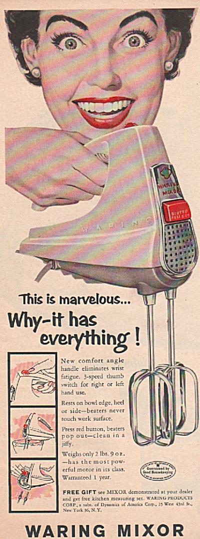 Waring Mixor ad 1955 (Image1)