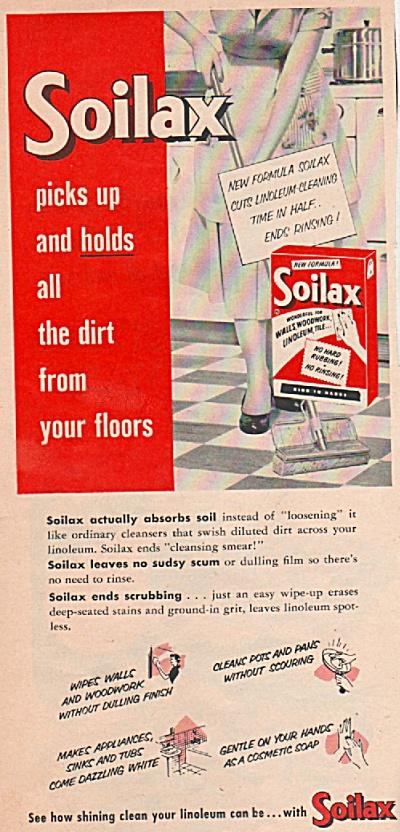 Soilax soap ad 1955 (Image1)