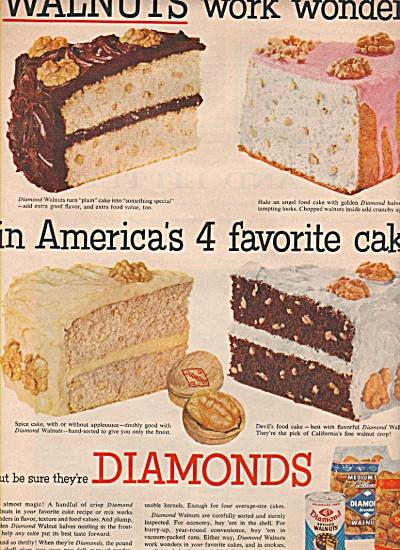 Diamonds walnuts ad 1955 (Image1)