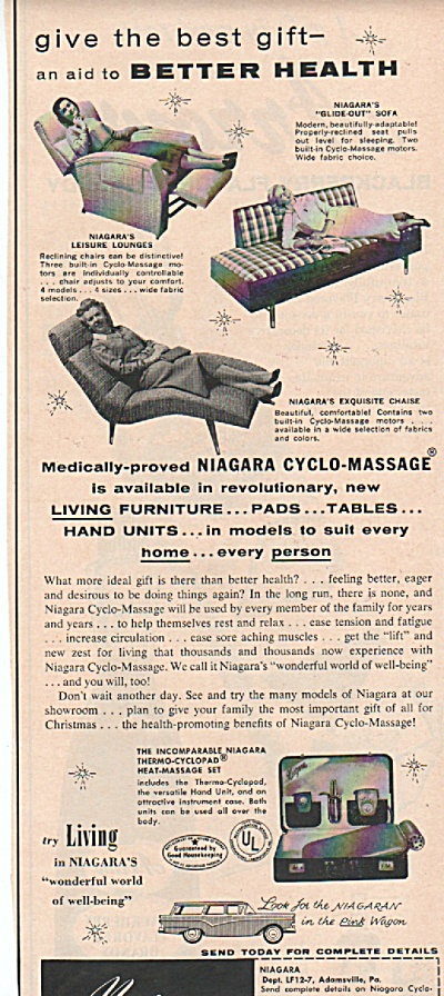 Niagara cyclo-massage ad 1957 (Image1)