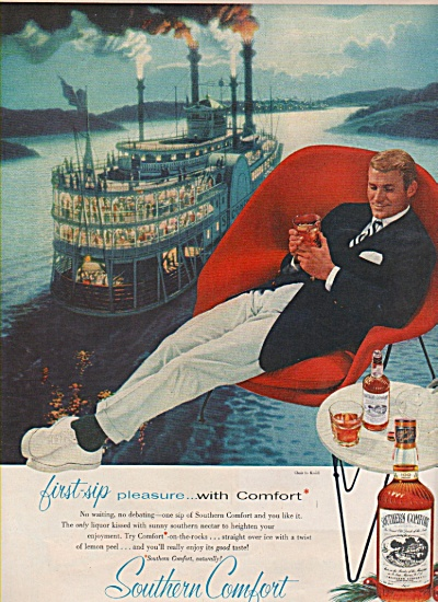 Southern Comfort Ad 1957