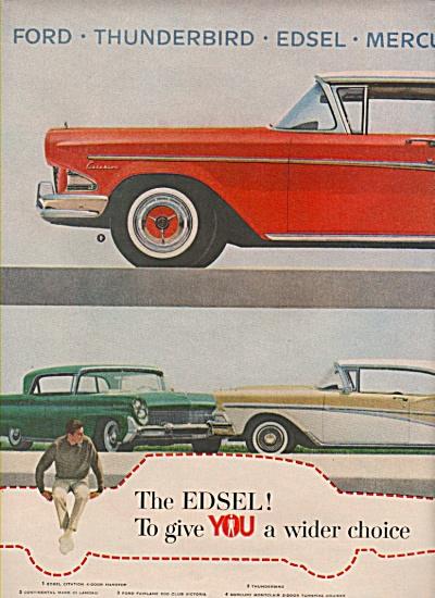 Edsel automobile ad 1957 (Image1)