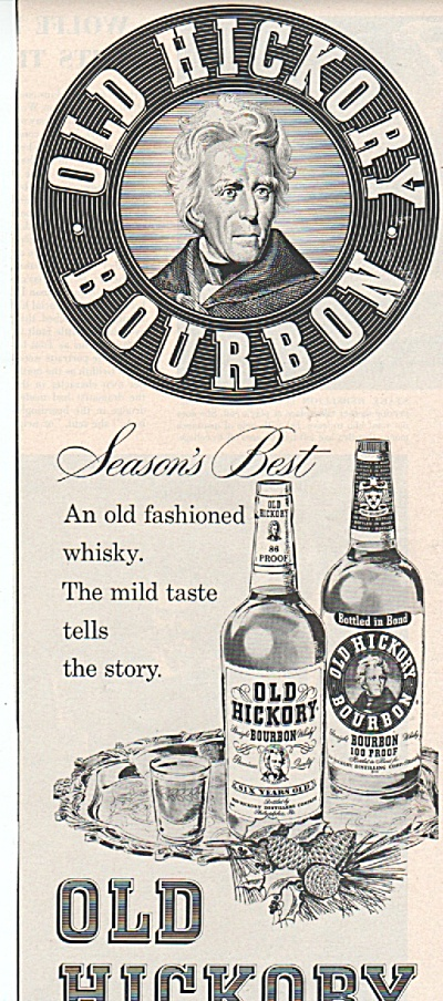 Old Hickory bourbon ad 1957 (Image1)