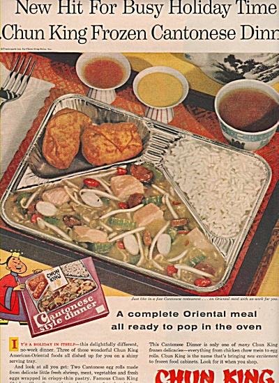 Chun King oriental foods ad 1957 (Image1)