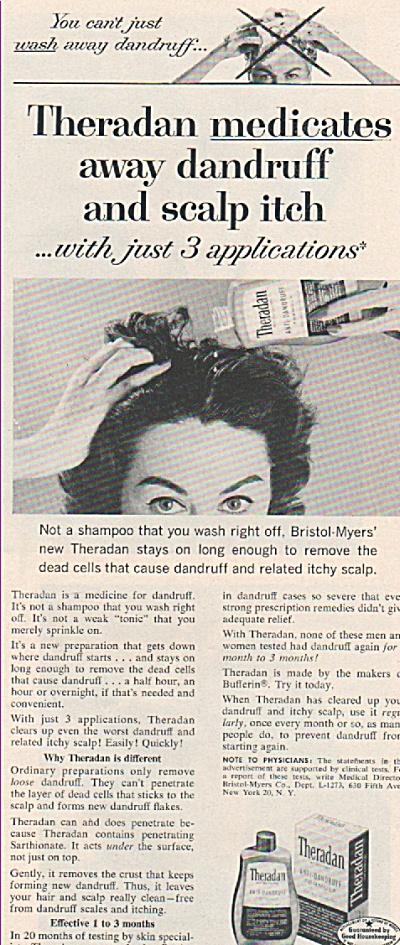 Theradan shampoo ad 1957 (Image1)