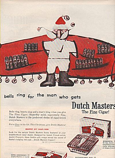 Dutch Masters cigars ad 1957 (Image1)