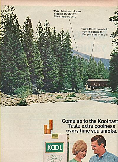 Kool cigarettes ad 1967 (Image1)