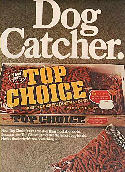 Top choice dog food ad 1967 (Image1)