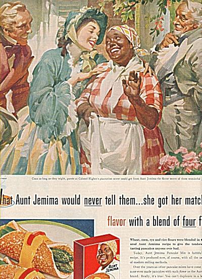Aunt Jemima pancake mix ad 1955 (Image1)