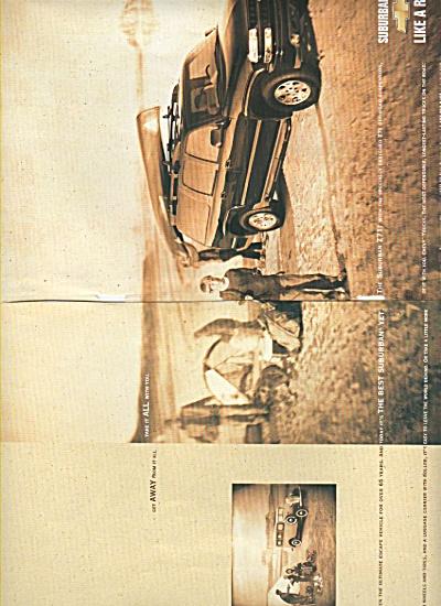 Chevrolet suburban 271 ad - 2002 (Image1)